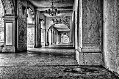 Historic Buildings Photograph - San Diego's Balboa Park by Larry Marshall