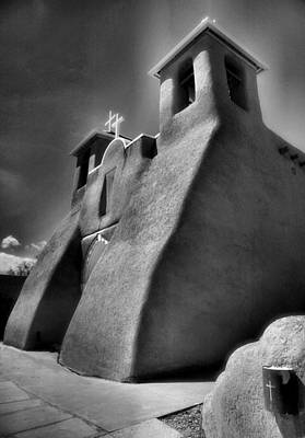 San Francisco De Asis Church II Print by Steven Ainsworth