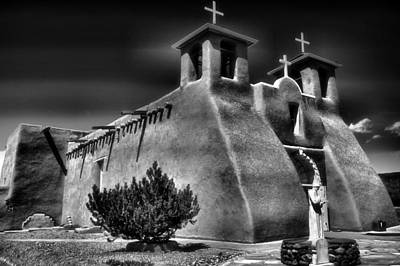 Adobe Church Photograph - San Francisco De Asis Church IIi by Steven Ainsworth