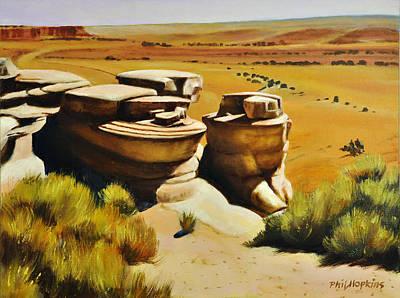 Phil Hopkins Painting - San Raphael Overlook by Phil Hopkins