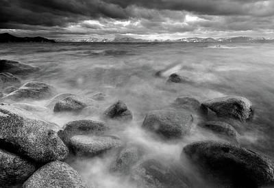 Sand Harbor Photograph - Sand Harbor, Lake Tahoe State Park by David Kiene