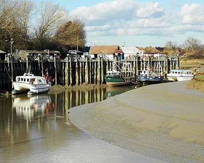 Angling Photograph - Sandbanks And Boats by Sharon Lisa Clarke