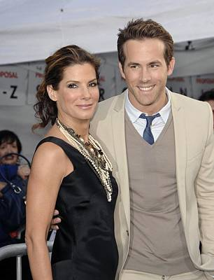 Sandra Bullock, Ryan Reynolds Print by Everett
