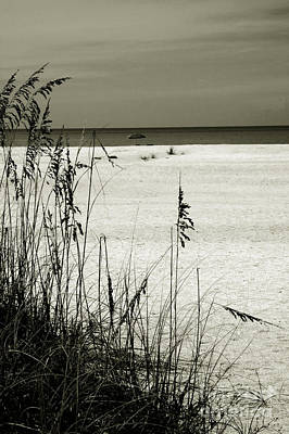 Abstract Beach Landscape Photograph - Sanibel Island Florida by Susanne Van Hulst