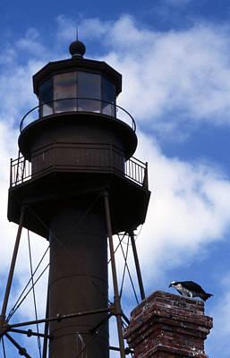 Sanibel Island Lighthouse Print by Skip Willits