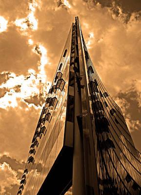 Fenster Photograph - Sanofi - Aventis Berlin by Juergen Weiss
