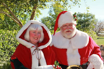 Course Fur Digital Art - Santa And Mrs. Claus In Arizonia by Nora Kovach