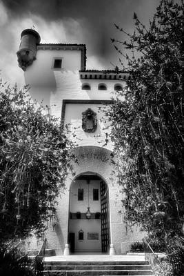 Santa Barbara Courthouse I Print by Steven Ainsworth
