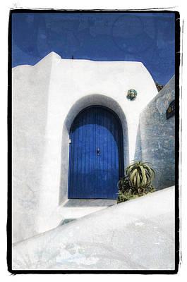 Santorini 1 Print by Mauro Celotti
