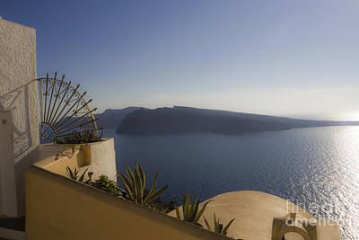 Leda Photograph - Santorini View by Leslie Leda
