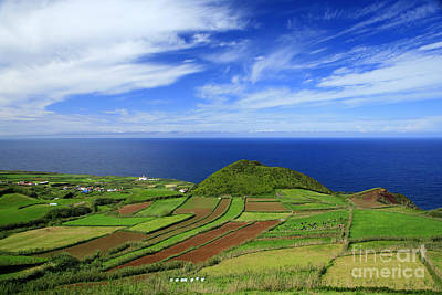 Deep Blue Photograph - Sao Miguel - Azores Islands by Gaspar Avila