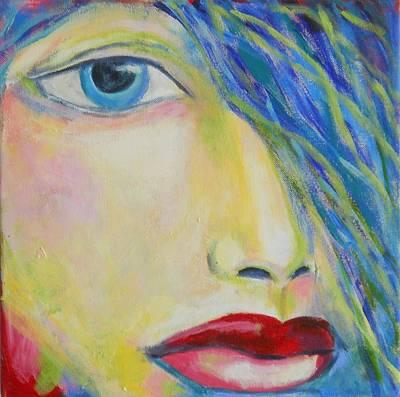 Maryann Painting - Saphire by MaryAnn Ceballos