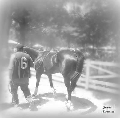 Racetrack Digital Art - Saratoga Racetrack  by Janette  Degrasse