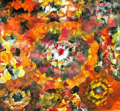 Contemporary Painting - Sarv Uttrav by Sumit Mehndiratta