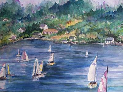 Painting - Saturday Afternoon by Sandy Collier