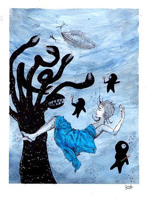 Painting - Save The Princess by Katchakul Kaewkate