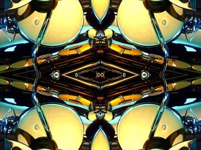 Socal Mixed Media - Saxorcles by Rom Galicia