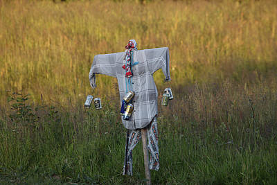 Pyjama Photograph - Scarecrow by Ulrich Kunst And Bettina Scheidulin