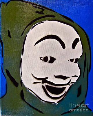Scary Hoodie Print by Tom Evans