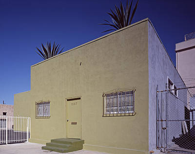 Scenes Of Los Angeles, A Nondescript Print by Everett