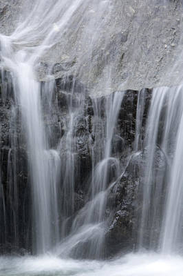 Danum Valley Conservation Area Photograph - Scenic Waterfall In Borneo Rain Forest by Tim Laman
