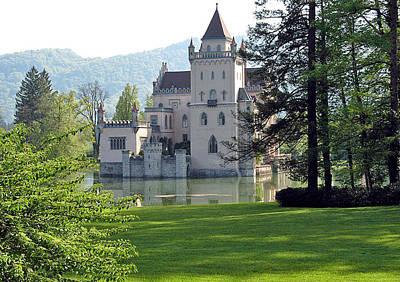 Austria Photograph - Schloss Anif by Joseph Hendrix