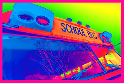 School Bus Original by Gordon Dean II