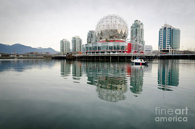 Science World Telus World Of Science Vancouver Bc Canada Print by Andy Smy