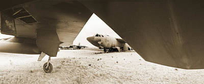 Scrapped B52ds  Original by Jan Faul