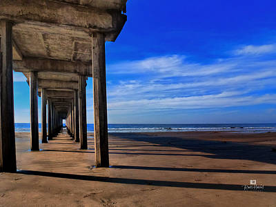 Scripps Pier Late Afternoon Print by Russ Harris