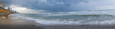 Jonah Digital Art - Sea And Land by Mara Bochart