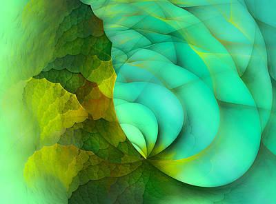 Sea Dragon Print by Betsy C Knapp