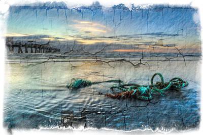 Sea Knot Print by Debra and Dave Vanderlaan