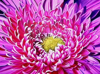 Sea Of Petals Print by Karen Casciani