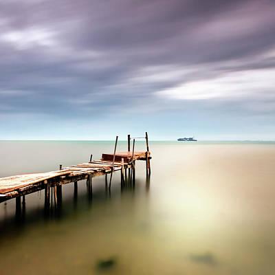 Sea View Print by Vassilis Tangoulis