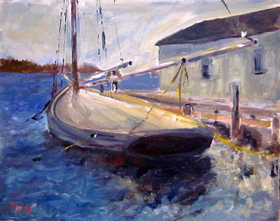 Painting - Seaport by Brent Moody