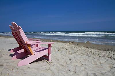 Seas The Chair  Print by Betsy Knapp