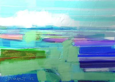 Seascape 1019 Print by Oridigart