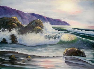 Ocean Painting - Seascape-3 by Joni McPherson