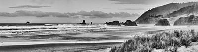 Seaside By The Ocean Print by James Heckt