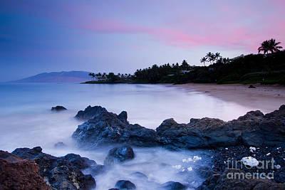 Secret Beach Maui Sunrise 2 Print by Dustin K Ryan