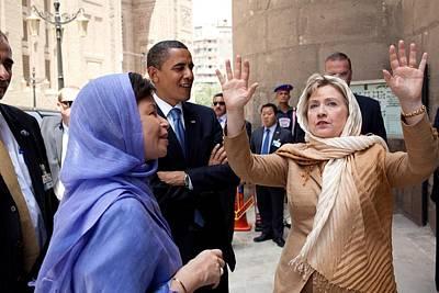 Secretary Of State Hillary Clinton Print by Everett