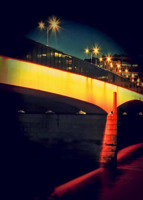 Secrets Of London Bridge Print by Jasna Buncic