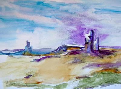 Desert Painting - Sedona by Sharon Mick