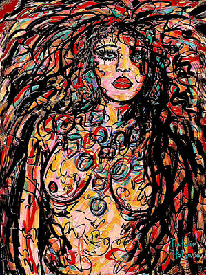 Seductress Print by Natalie Holland
