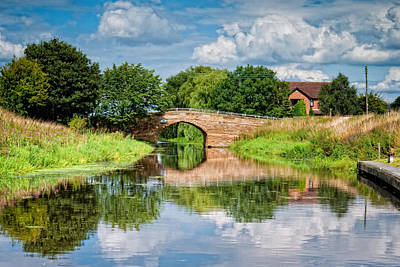 Selby Photograph - Selby Canal by Barry Teutenberg