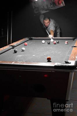 Lynda Dawson-youngclaus Photograph - Selective Billiards by Lynda Dawson-Youngclaus