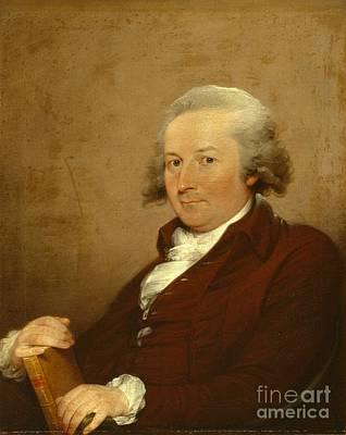 Wig Painting - Self-portrait by John Trumbull