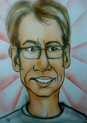 Self Portrait Print by Pete Maier