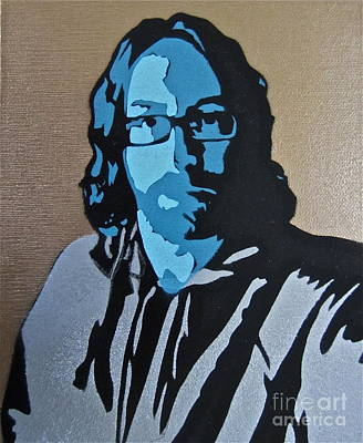 Self Portrait Print by Tom Evans